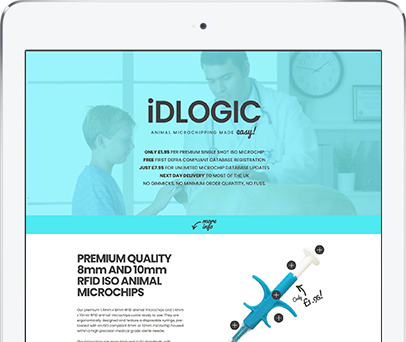 Cornwall Web Designers built the iDLOGIC website.