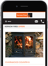 Web Designers from Cornwall built the Kernow Fires website.