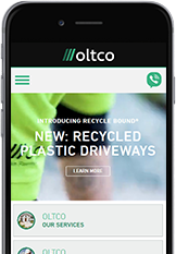 Web Designers from Cornwall built the Oltco website.